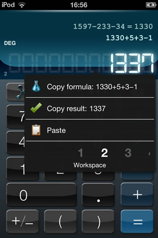 Calculator HD+ screenshot